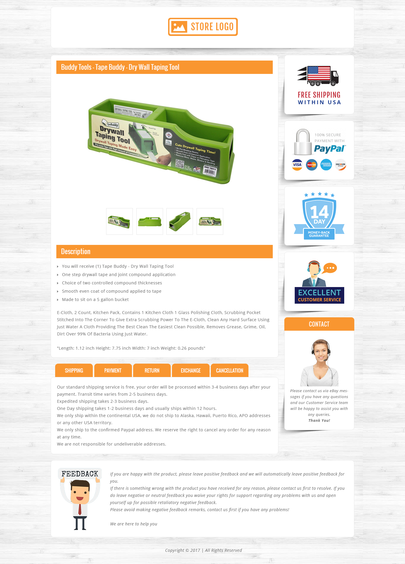 Hermosa plantilla de ebay gratis html inspiraci n for Free ebay templates html download